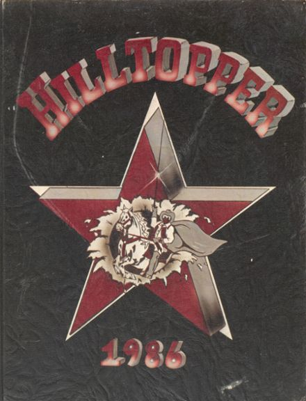 1986 Madison County High School Yearbook Cover