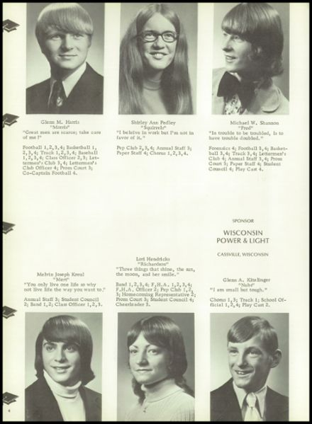 1975 Benton High School Yearbook Page 8