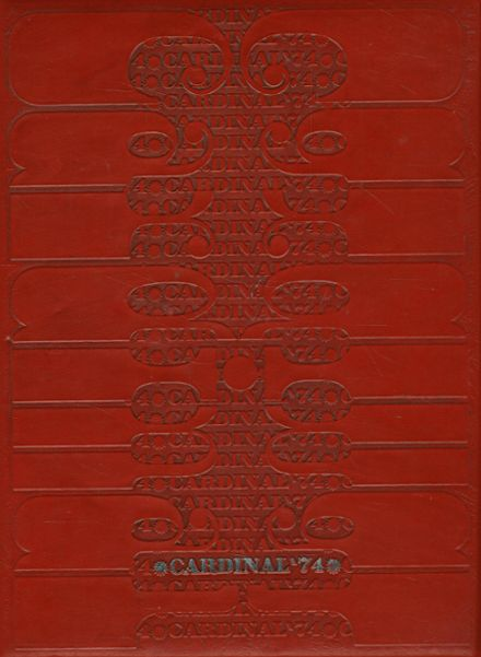 1974 Whittier High School Yearbook Cover