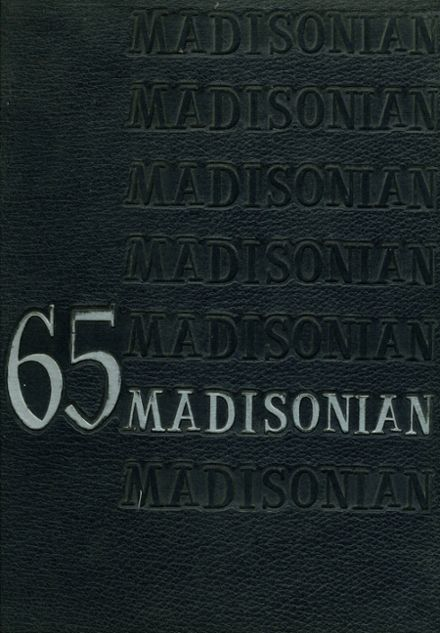 1965 Ft. Madison High School Yearbook Cover