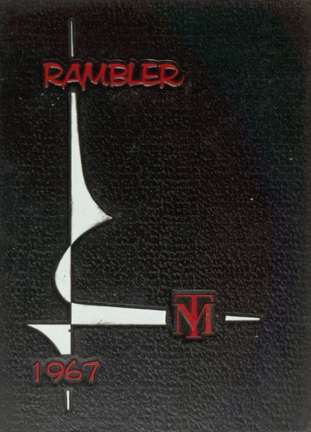 1967 Trotwood-Madison High School Yearbook Cover