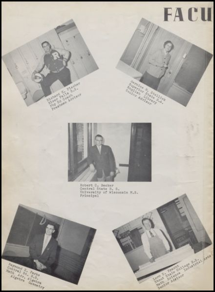 1959 Rib Lake High School Yearbook Page 6