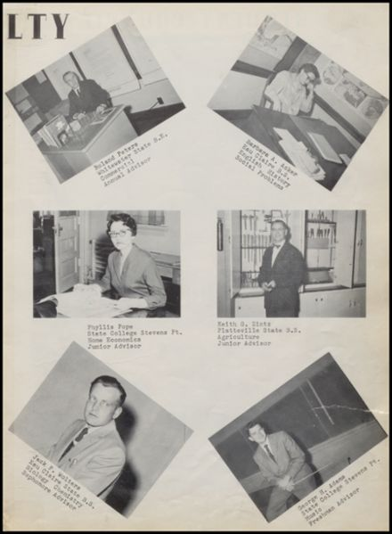 1959 Rib Lake High School Yearbook Page 7