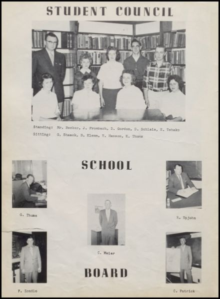 1959 Rib Lake High School Yearbook Page 8