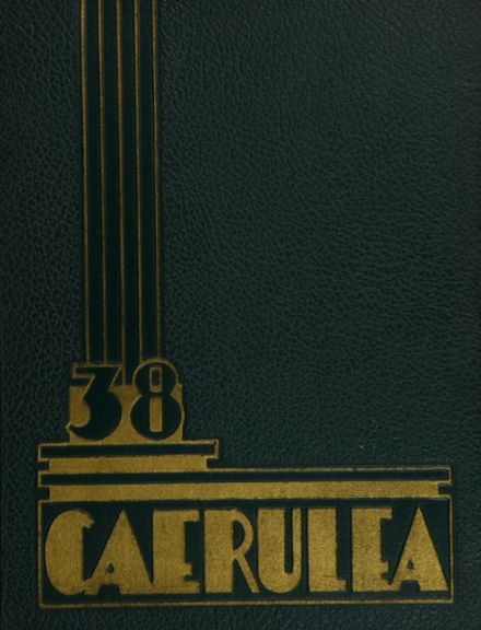 1938 Long Beach Polytechnic High School Yearbook Cover