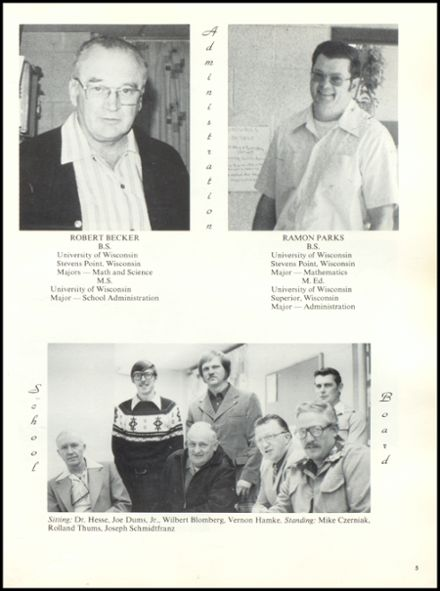 1978 Rib Lake High School Yearbook Page 9