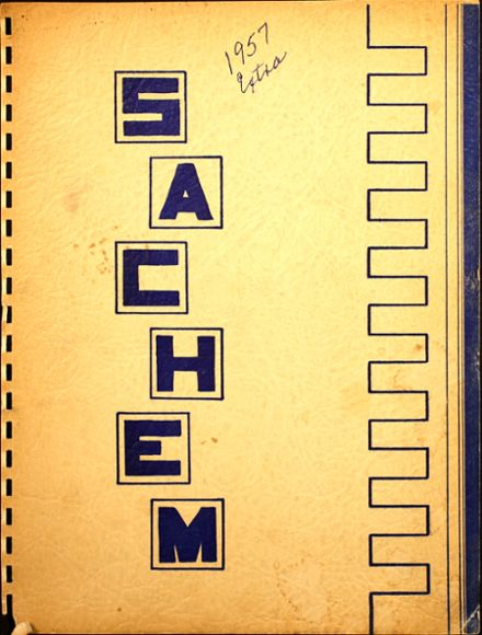 1957 Agawam High School Yearbook Cover