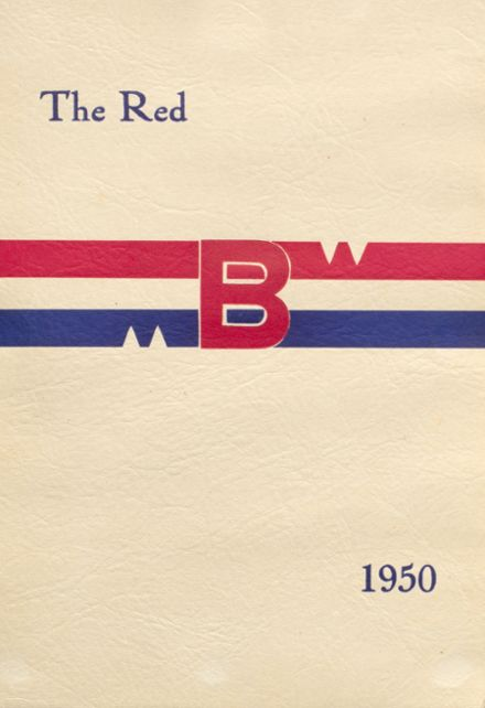 1950 Brodhead High School Yearbook Cover