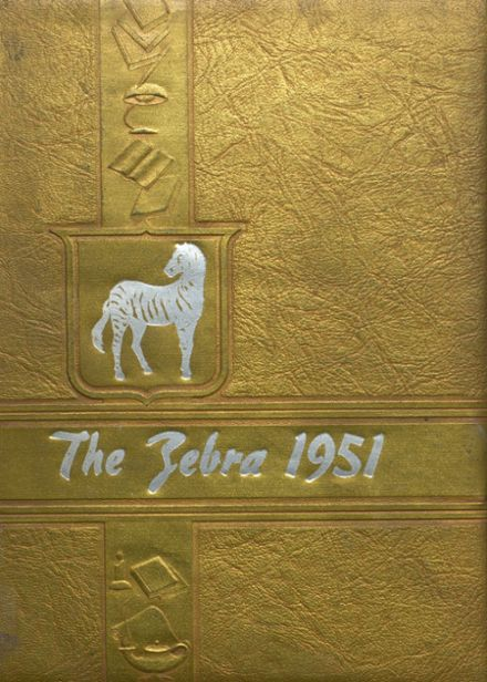 1951 Grandview High School Yearbook Cover