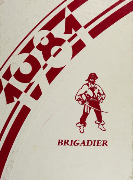 1981 Pulaski County High School Yearbook Cover