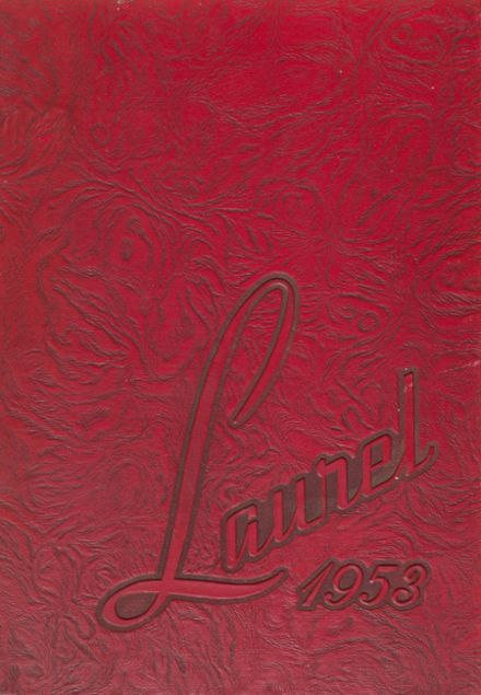 1953 Coquille High School Yearbook Cover