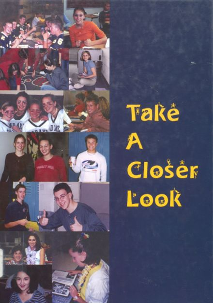 2003 Bad Axe High School Yearbook Cover
