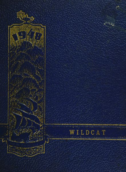 1948 Marcellus High School Yearbook Cover
