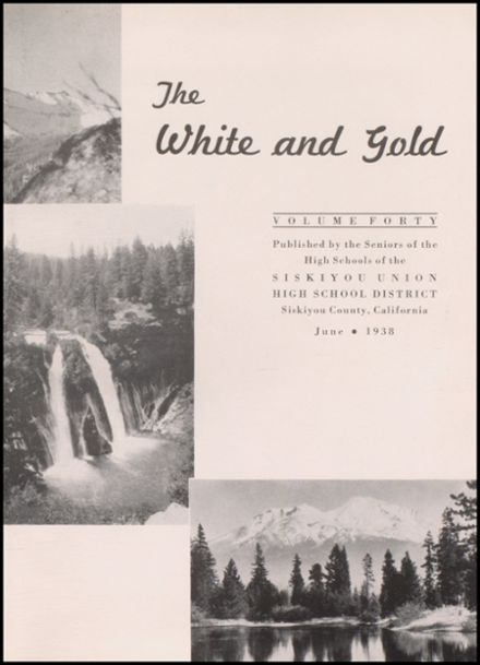 1938 Yreka High School Yearbook Page 7