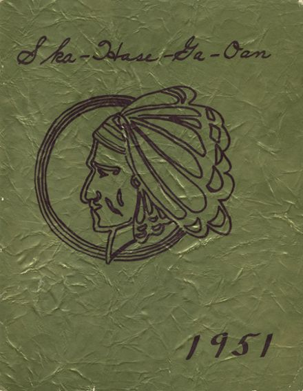 1951 Lima High School Yearbook Cover