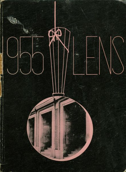 1955 Washington High School Yearbook Cover