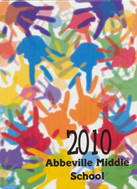 2010 Abbeville Middle School Yearbook Cover