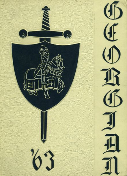 1963 St. George High School Yearbook Cover