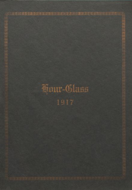 1917 Anniston High School Yearbook Cover