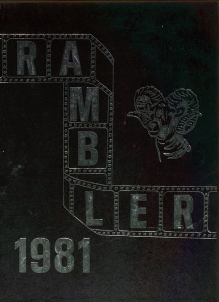 1981 Trotwood-Madison High School Yearbook Cover