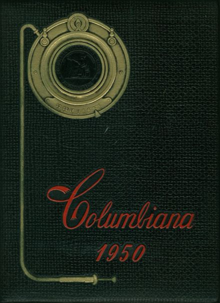 1950 Columbia Grammar & Preparatory School Yearbook Cover