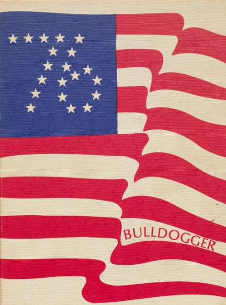 1976 Gainesville High School Yearbook Cover