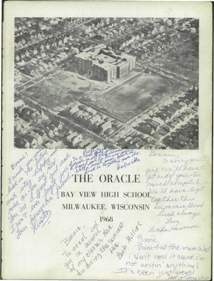 1968 Bay View High School Yearbook Page 5