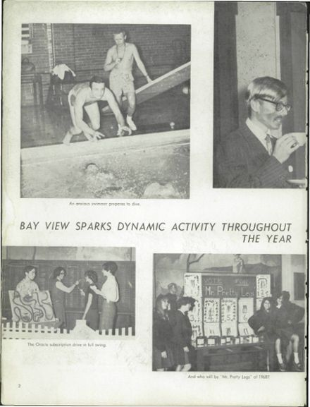 1968 Bay View High School Yearbook Page 6