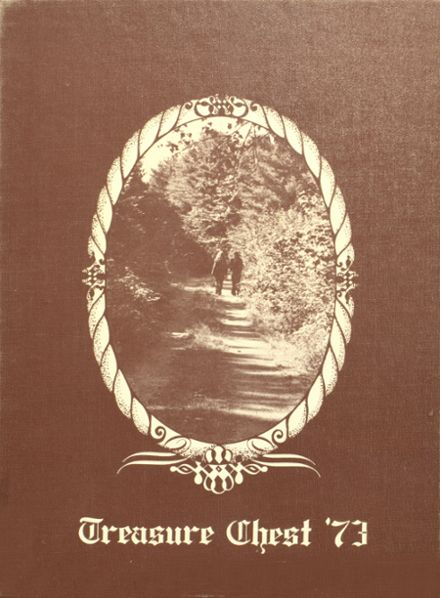 1973 Mepham High School Yearbook Cover