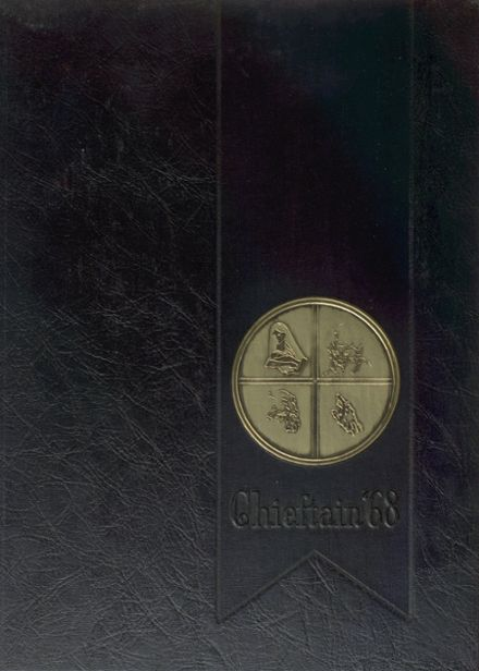 1968 Terry Parker High School Yearbook Cover