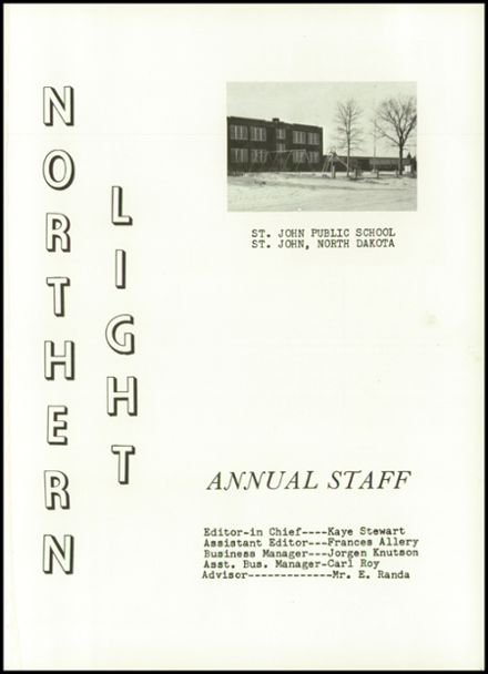 1964 St. John High School Yearbook Page 5