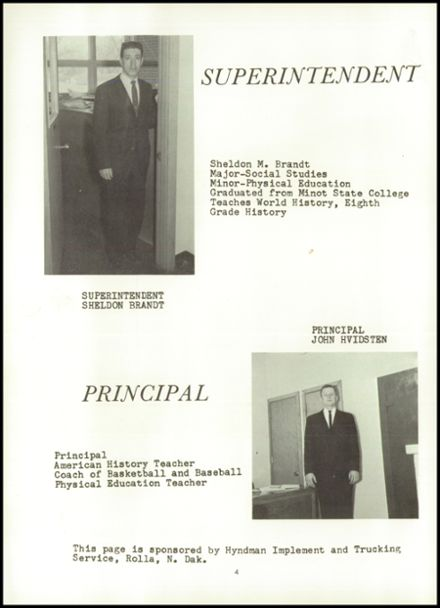 1964 St. John High School Yearbook Page 8