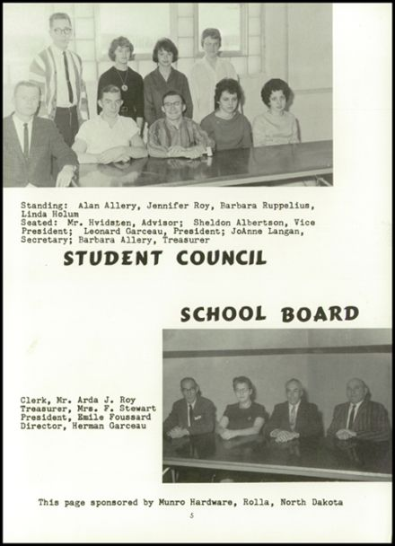1964 St. John High School Yearbook Page 9