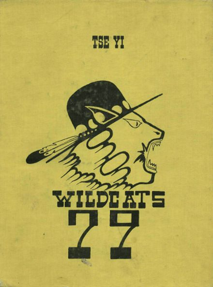1977 Chinle High School Yearbook Cover