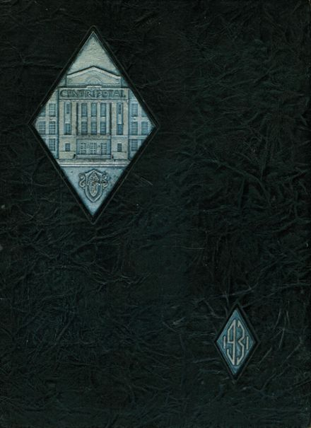 1931 Central Catholic High School Yearbook Cover