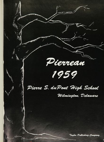 1959 P.S. DuPont High School Yearbook Page 5