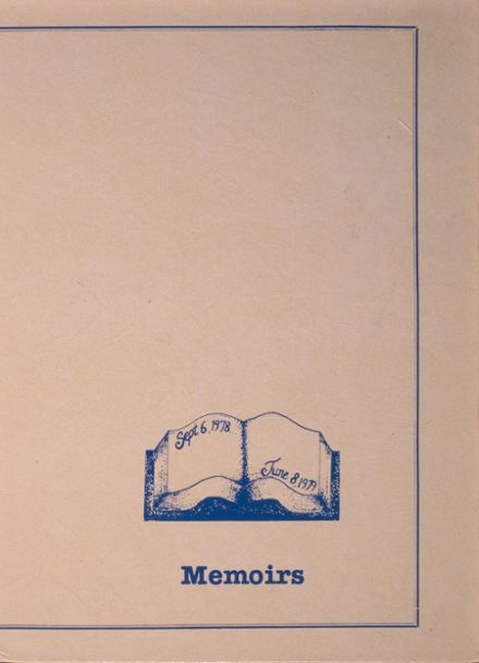 1979 Central Valley High School Yearbook Cover