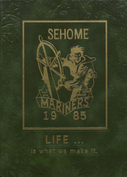 1985 Sehome High School Yearbook Cover