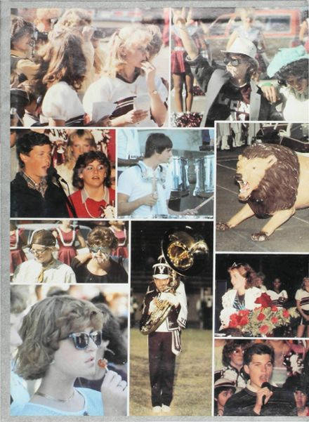 1986 Vernon High School Yearbook Page 2