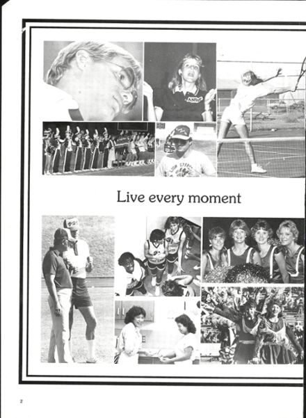 1986 Vernon High School Yearbook Page 6