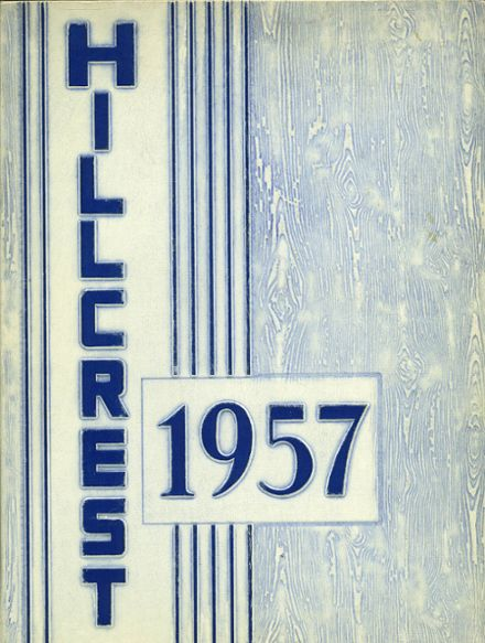 1957 Bloomfield Hills High School Yearbook Cover