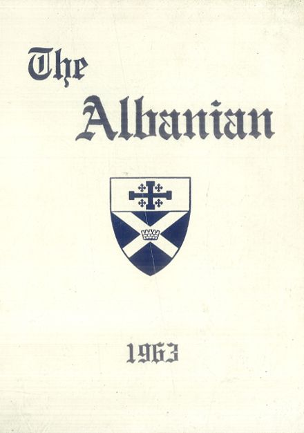 1963 St. Albans High School Yearbook Cover