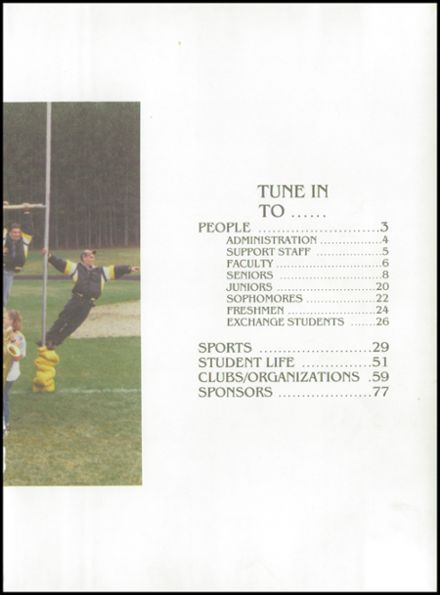 1995 Rosholt High School Yearbook Page 3