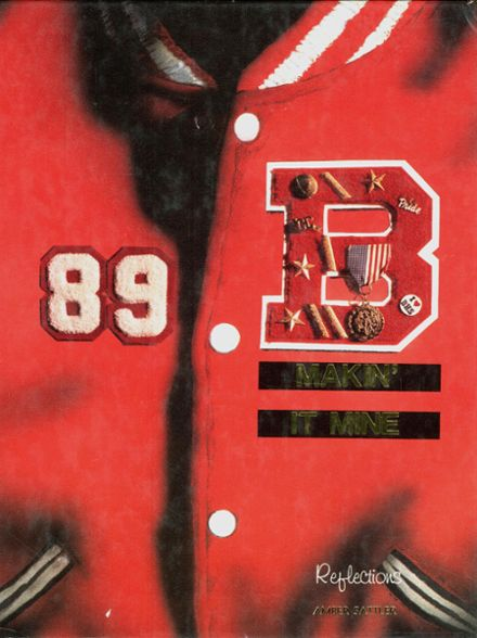 1989 Brighton High School Yearbook Cover