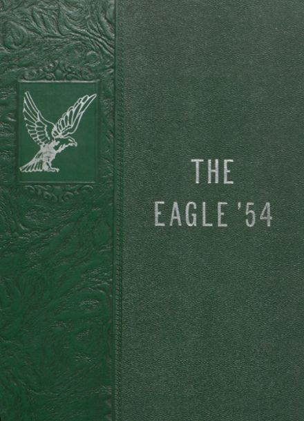 1954 Stratton High School Yearbook Cover