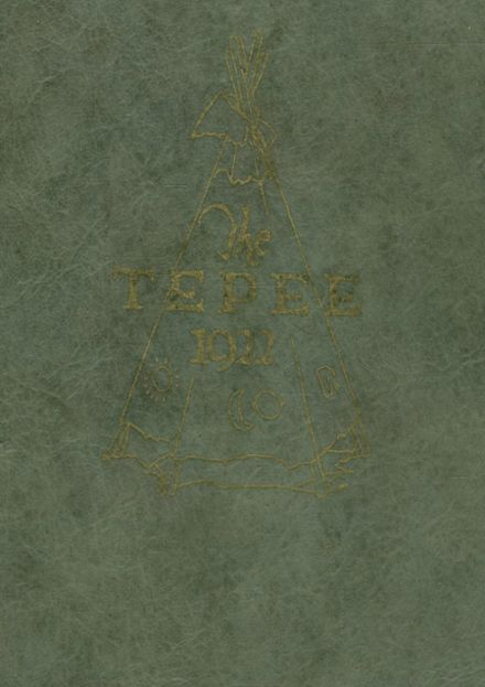 1922 Marlow High School Yearbook Cover
