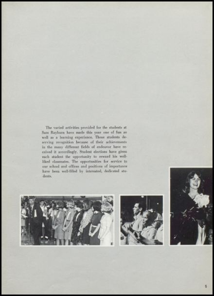 1966 Rayburn High School Yearbook Page 9