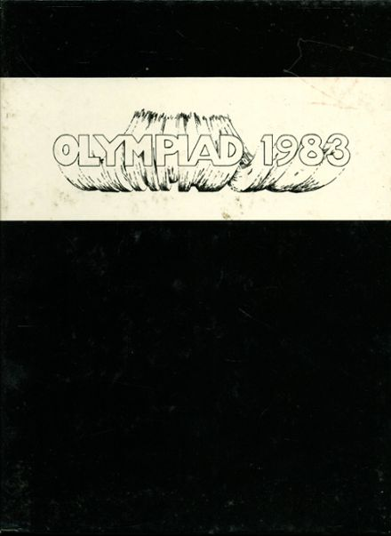 1983 Mountain View High School Yearbook Cover