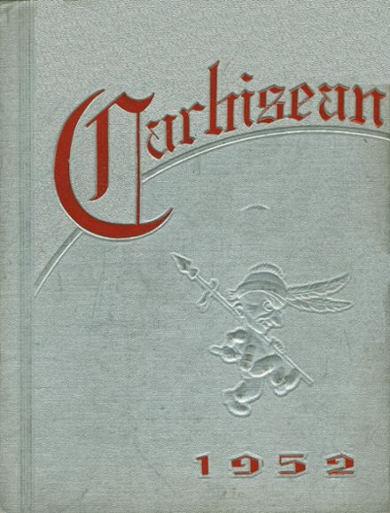 1952 Carrollton High School Yearbook Cover