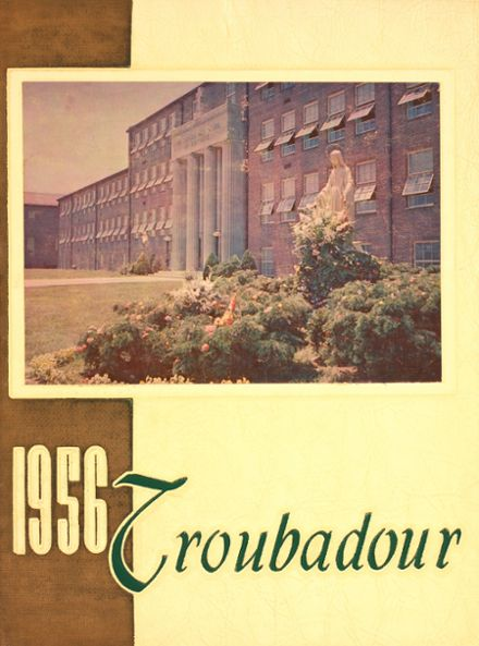 1956 Catholic High School of Baltimore Yearbook Cover